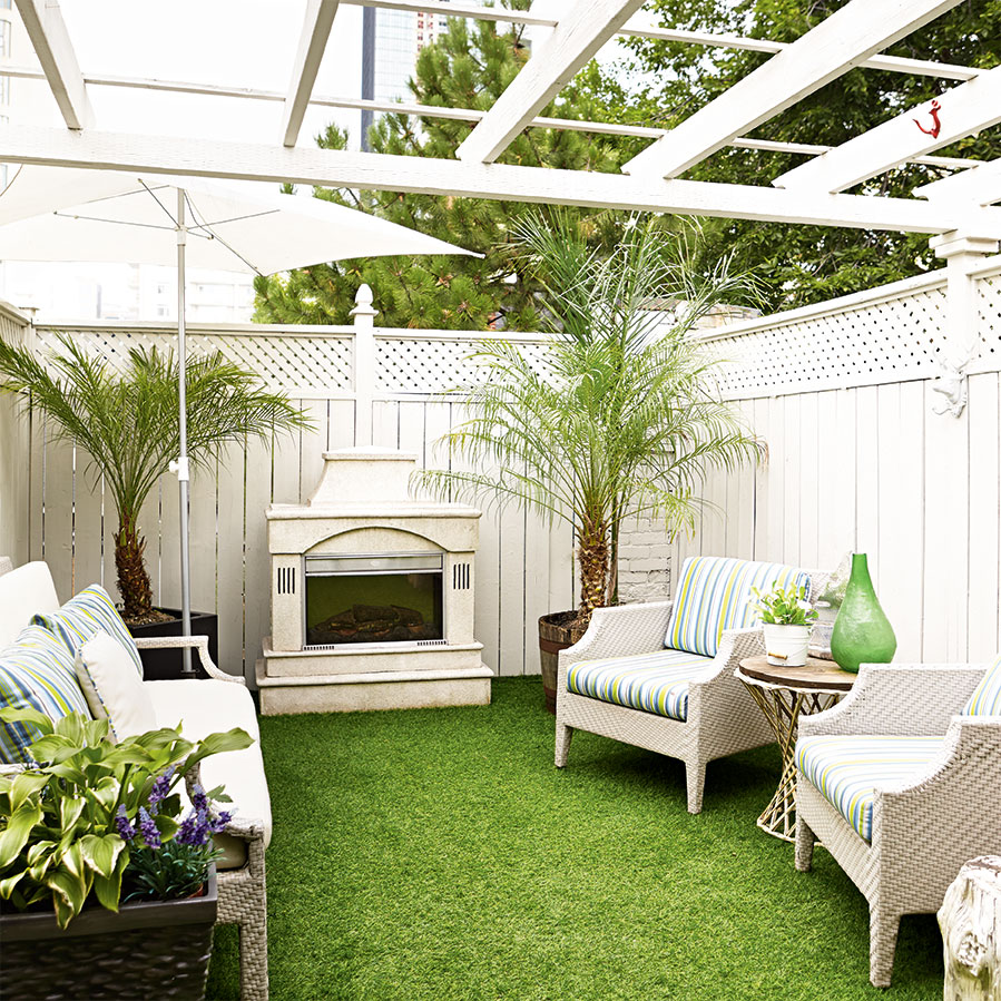 my townhouse upper terrace makeover in canadian living magazine