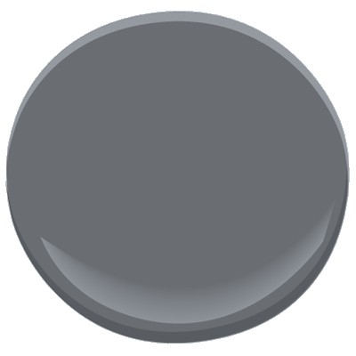 Colour inspiration at twenty thousand feet the karl for Benjamin moore slate grey