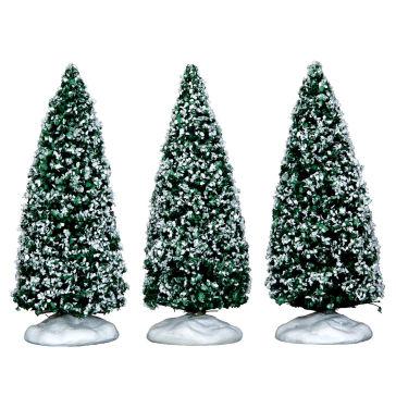 Lemax Snowy Juniper Trees